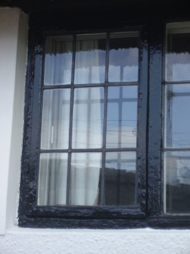 Traditional leaded window commission